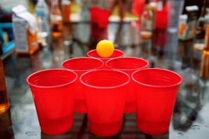 beer pong, drinking game